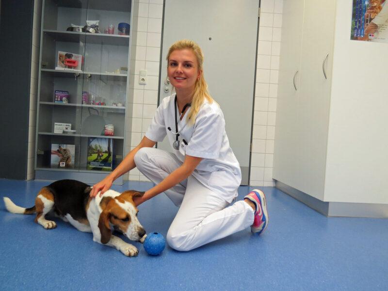 06 Anna Lena Ziese mit Hund Oskar LMU Munchen
