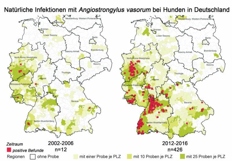 Verbreitung Lungenwmer In Deutschland 2002 2016 Zus