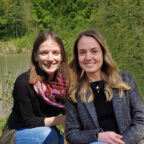 Rebekka Mach und Pia Wiegel